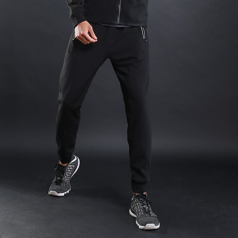 Training Pants Men Loose Running-Pants With Pocket Sweatpants Gyms Fitness High-Quality Sport Trousers Men Zipper Workout Pants
