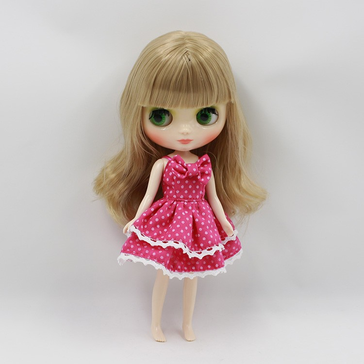 Middie Blythe Doll Multi-Color Hair 20cm 5