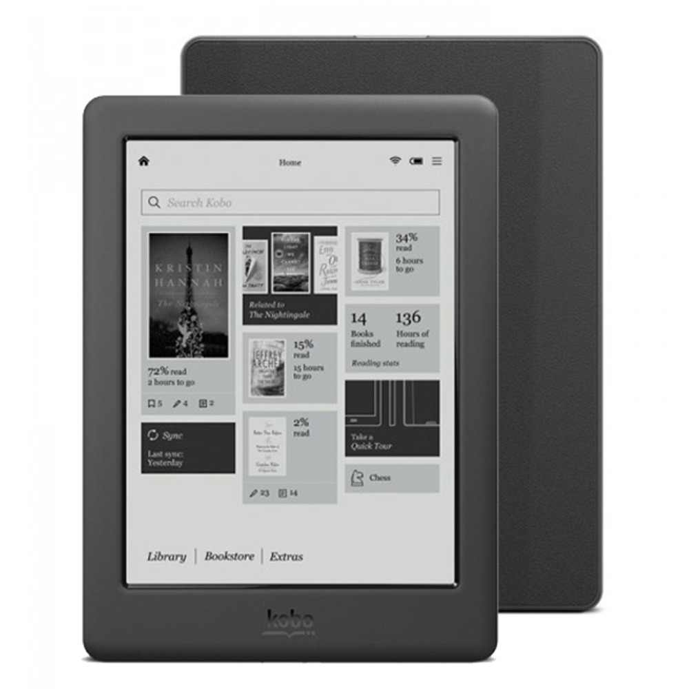 Дюймов 6 дюймов Kobo Touch 2,0 E-ink Peal screen/4 ГБ/WiFi электронная книга (N587)