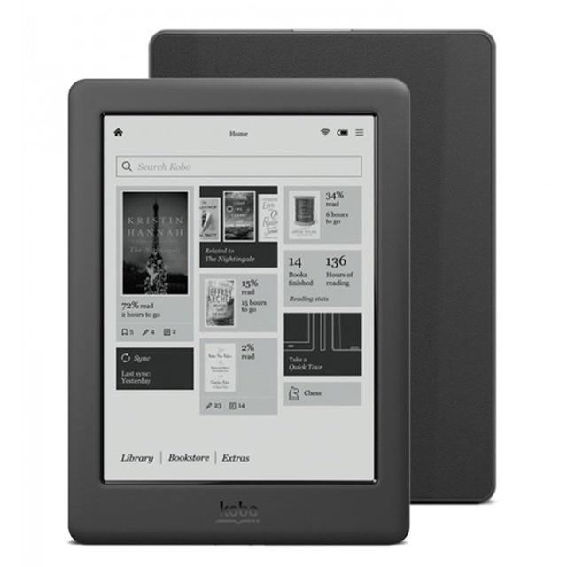 6 بوصة Kobo اللمس 2.0 (N587) Kobo Aura 1024x758 N514 E ink Peal الشاشة/4 جيجابايت/WiFi قارئ الكتب الإلكترونية