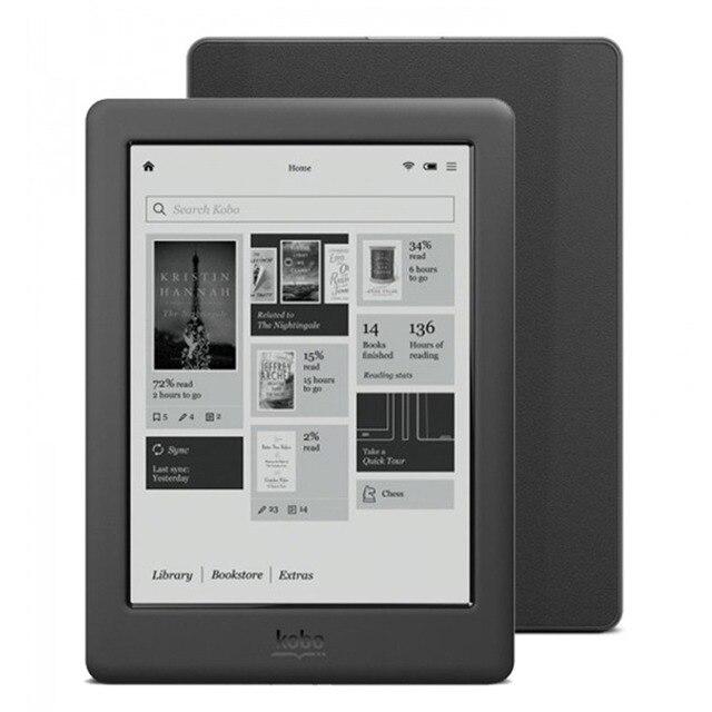 6 pulgadas Kobo Touch 2,0 e-ink Peal pantalla/4 GB/WiFi lector de libros electrónicos (N587)