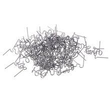 Волновой плоский скобы для горячего степлера 100 шт./компл. Precut 0,8 мм волновой плоский скобы для горячего степлера пластиковый степлер ремонт сварщика MAY22 дропшиппинг