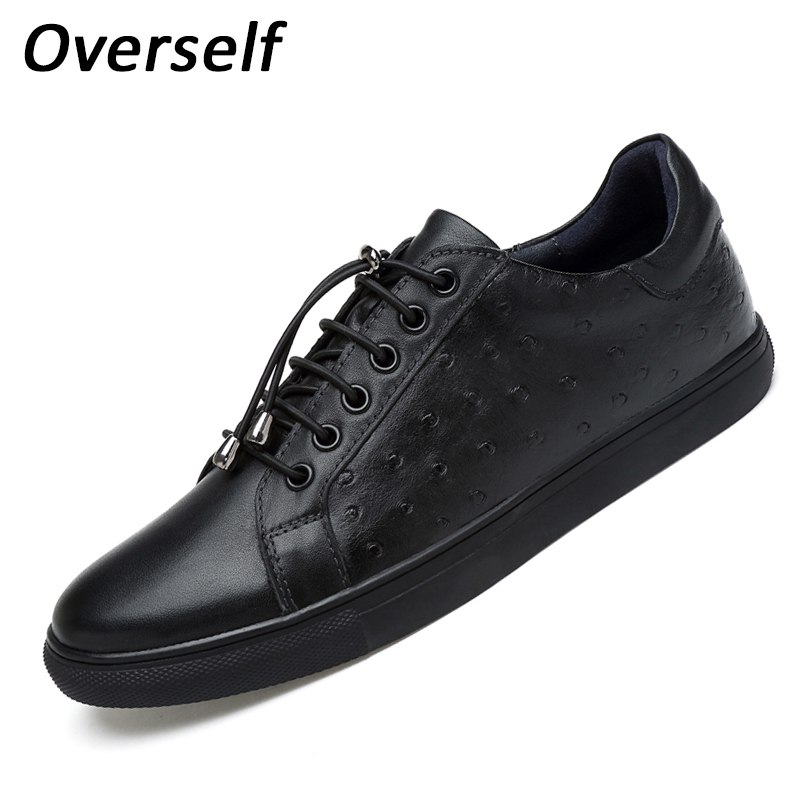 Men's Casual Shoes Genuine Leather Loafers Moccasins Men Shoes For Man 2017 Dress Shoes Luxury Brand Flats plus Big size to 47 2017 new men shoes luxury brand moccasin leather casual driving oxfords shoes men loafers moccasins shoes for men size