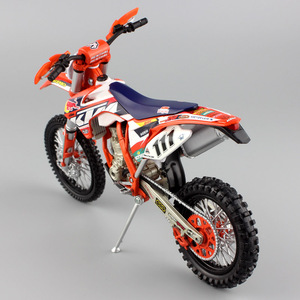 Image 5 - 1/12 automaxx ktm EXC F 350 exc racer no. 111 테디 오토바이 redbull diecast enduro 스케일 모델 먼지 자전거 motocross 장난감 자동차 아이