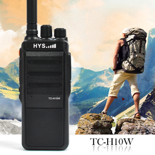 HYS Radius TC-H10W UHF 400-520 MHz 70CM 10 Watt 16 Channel Ham Radio Commercial Series Two Way Radio Long Distance Walkie Talkie
