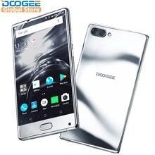 2018 Original DOOGEE MIX Mirrow Silver Smartphone Android 7.0 Dual Cameras 5.5Inch MTK Helio Octa Core 6GB+64GB LTE 3380mAh P25