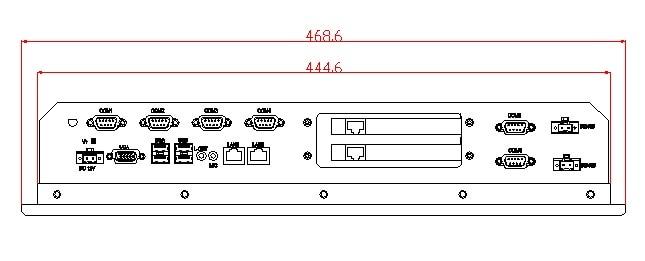 6U pramoninis kompiuteris, stovo laikiklis, 12,1 colio skystųjų - Pramoniniai kompiuteriai ir priedai - Nuotrauka 2