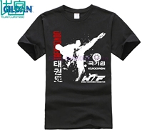 Character Funny T Shirt 2017 Taekwondo Shirts Homme Casual Cool T-Shirt Men Top Online Sales