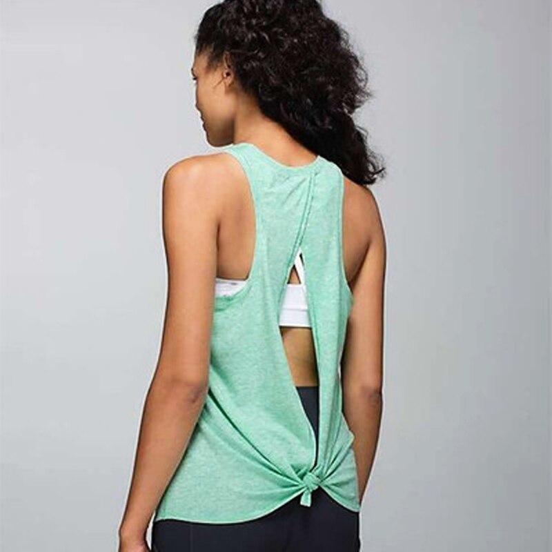 Vest Fitness Women sleeveless