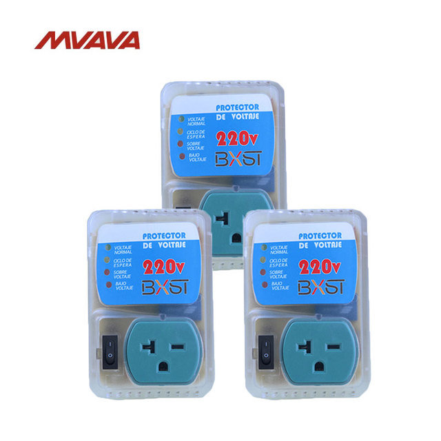 Free Shipping,MVAVA 3 Pack Home Appliance US Standard AC220V Outlet ...