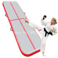 Cheap Air Tracks Mat Track Gymnastics Equipment Inflatable on Water or Garden for Home Training with Pump Free Shipping