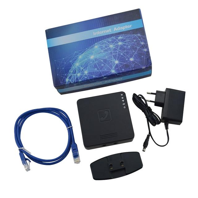 Miễn phí Vận Chuyển! voIP không dây Router với 2 cổng Voice over IP GT202 VoIP ATA với Router Không Dây trong một thiết bị