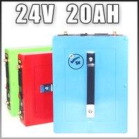 24V 20AH Lithium ion Battery Electric Bike battery 24 Volt Waterproof case 5V USB Port