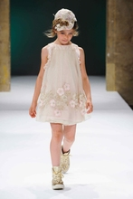 girl children clothes summer princess dress chiffon flower straight dress  lace sleeve vest dress  1526263125