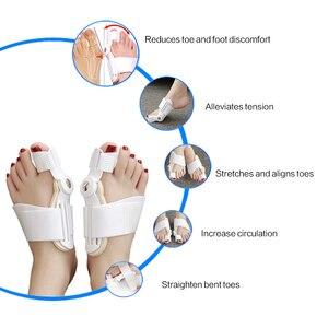 Image 4 - 1Pcs Hallux Valgus Splint Correction Bicyclic Bunion Thumb Orthopedic Bone Big Toe Separator Finger Pedicure Foot Care Tool