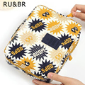 RU&BR Arrival Travel Pouch Cosmetic Cases Toiletry Kits Finishing Bag Portable Makeup Organizer Bags Grand Pouch Bag In Bag