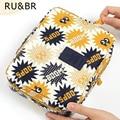 RU & BR Chegada Bolsa de Viagem Estojos de Cosméticos Kits de Higiene Pessoal Sacos de Acabamento Bolsa de Maquiagem Portátil Organizador Grande Saco Bolsa Em saco