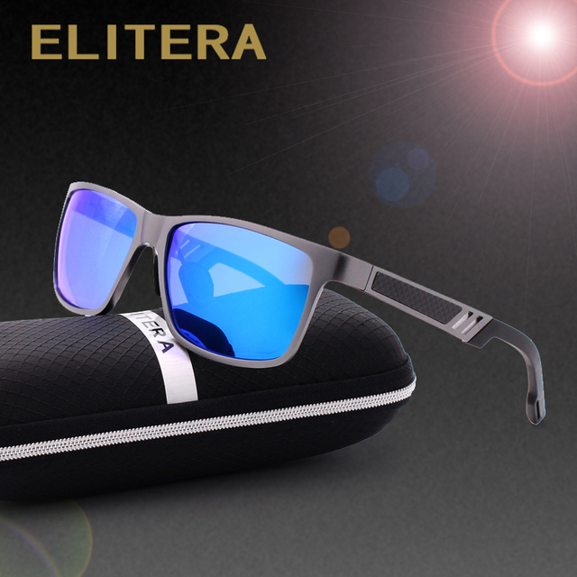 ELITERA Aluminum Polarized Sunglasses Men Sports Sun Glasses Driving Outdoor Sunglass Goggle Eyewear oculos de sol 6560