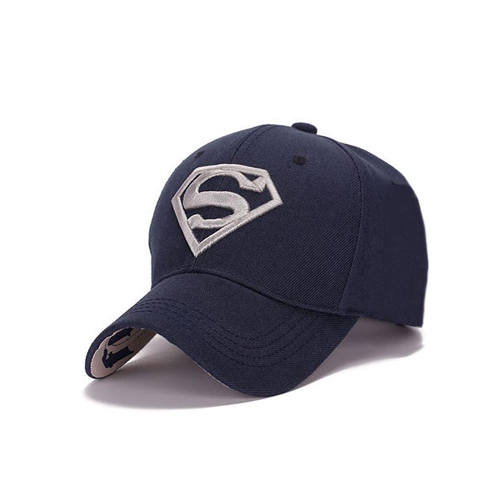 Mujeres pareja Hip-pop adultos Sol sombrero Superman gorra de béisbol 04e02786ad1
