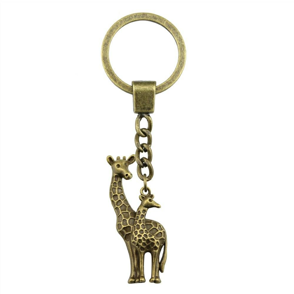 Giraffe Keyring