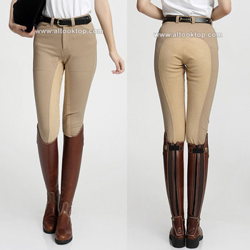 Wholesale men women horse riding chaps equitacion equitation professional English chaps style pants jodhpurs equestrian breeches formal wear