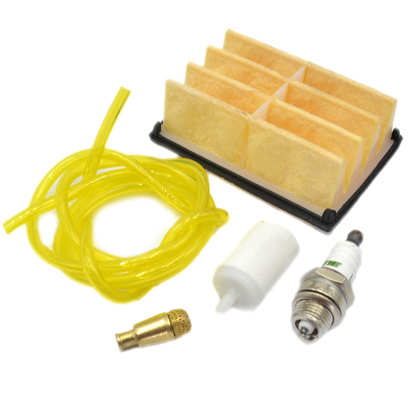 Air Fuel Oil Filter Hose Spark Plug Kit For Husqvarna 261 262 268 272 394 Chainsaw