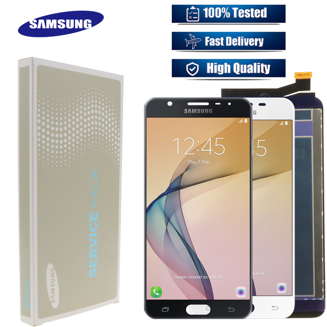5.5 Original สำหรับ SAMSUNG Galaxy J7 PRIME LCD G610 G610F G610M สำหรับ SAMSUNG J7 PRIME 2016 LCD