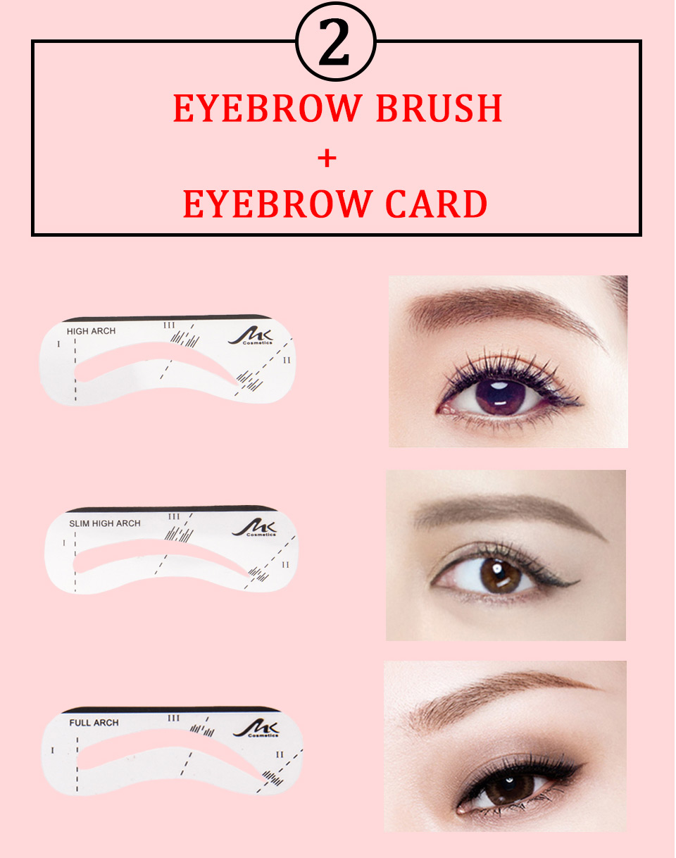 Detail Feedback Questions About Mk 3 Color Eyebrow Powder Palette