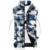 2016 outono inverno novos homens calças de Camuflagem bolso com zíper gola Mandarim casaco de algodão para baixo do Colete masculino outerwear homens casuais
