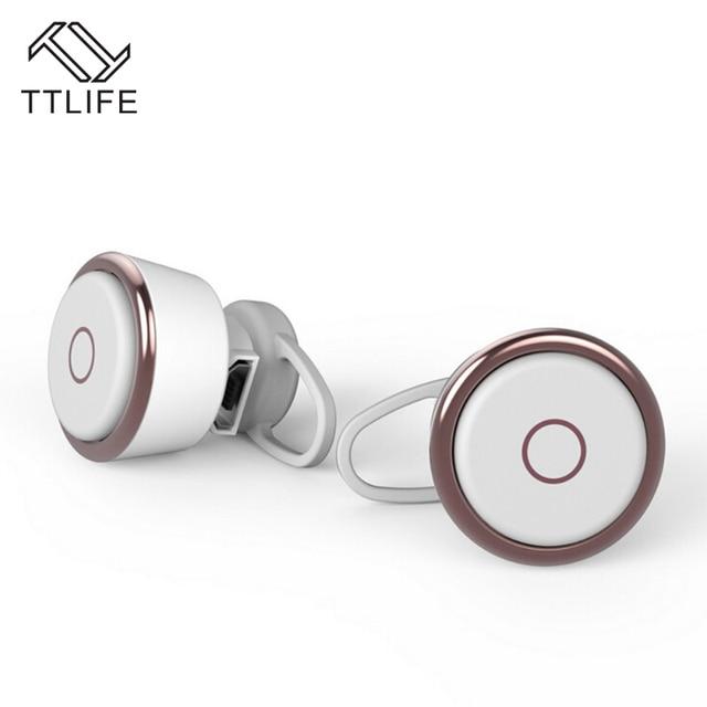 V4.1 TTLIFE Estilo Mini Bluetooth Sem Fio do Fone de ouvido Fones de ouvido Handsfree Universal para Todos Os Smartphones Com Microfone