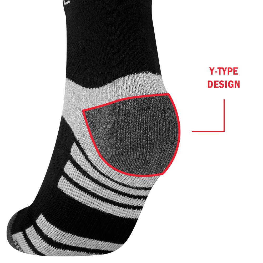 Image 4 - YUEDGE Unisex  Wicking Cushion Cotton Ankle Socks Casual Cycling Running Tennis Sports Socks for Men and Women( 5 Pairs/Pack)-in Men's Socks from Underwear & Sleepwears