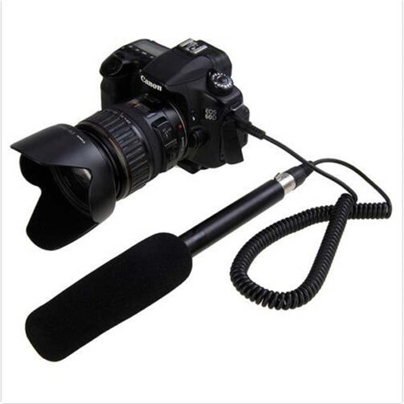ФОТО HOT Takstark SGC-578 Directive Interview Microphone Cardioid Hyper-cardioid Directivity Characteristic For DSLR Camera Camcorder