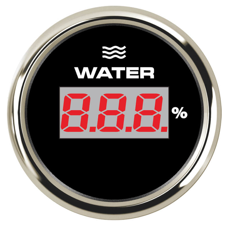Marine 52mm Water Temperature Gauge Digital Temp Meter 40-120 Degree fit Boat Car Motor Yacht Ship With 8 Color Backlight 9-32V fit 8 120 35008