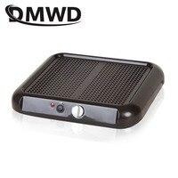 DMWD Home Foot warmer electric heater energy saving household heating office foot warmer warm foot 220V EU Plug adapter