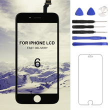 1PC Grade AAA++ Phone Replacement LCD For iphone 6 with Touch Screen Digitizer Display Assembly No Dead Pixel