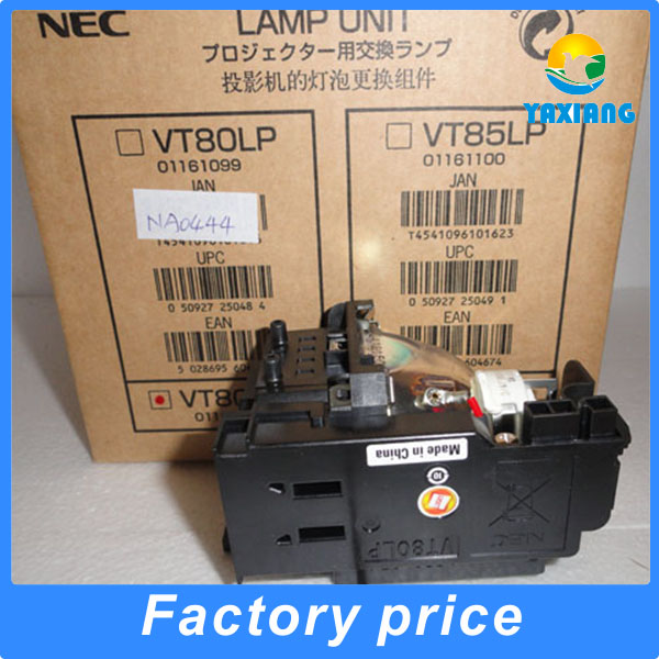 100% Original VT80LP projector lamp with housing for VT48 VT49 VT57 VT58BE VT58 VT59G VT59 VT58G free shipping vt85lp compatible projector lamp for vt480 vt490 vt57 vt58 vt58be vt59 vt491 vt580 with housing happybate