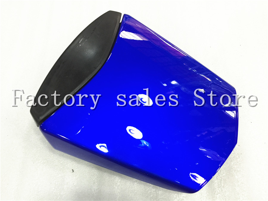 For Yamaha YZF600 YZF 600 R6 2003 2004 2005 03 04 05 Blue Rear Seat Cover Cowl Solo Racer Scooter Seat Motorcycle YZFR6