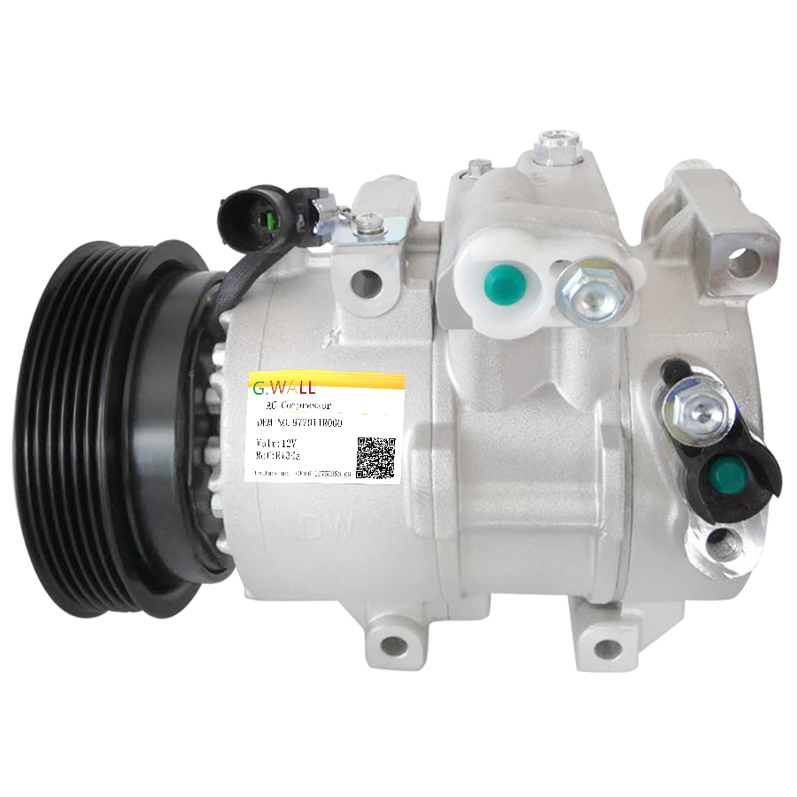 For hyundai ac compressor accent 1 6L l4 Gas 2012 2013 2014 Car Air Conditioning Compressor 97701 1R000 977011R000 in Air conditioning Installation from Automobiles Motorcycles