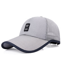 2018 Unisex Sports Cap Mens Womens Casual Cap For Fishing Outdoor Baseball Cap Long Visor Summer Mesh Dad Hat Sunshade Hat Caps