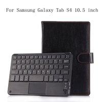 Ultra thin Wireless Bluetooth Keyboard Case For Samsung Galaxy Tab S4 10.5 inch SM T835 SM T830 PU Leather Smart Cover+gifts