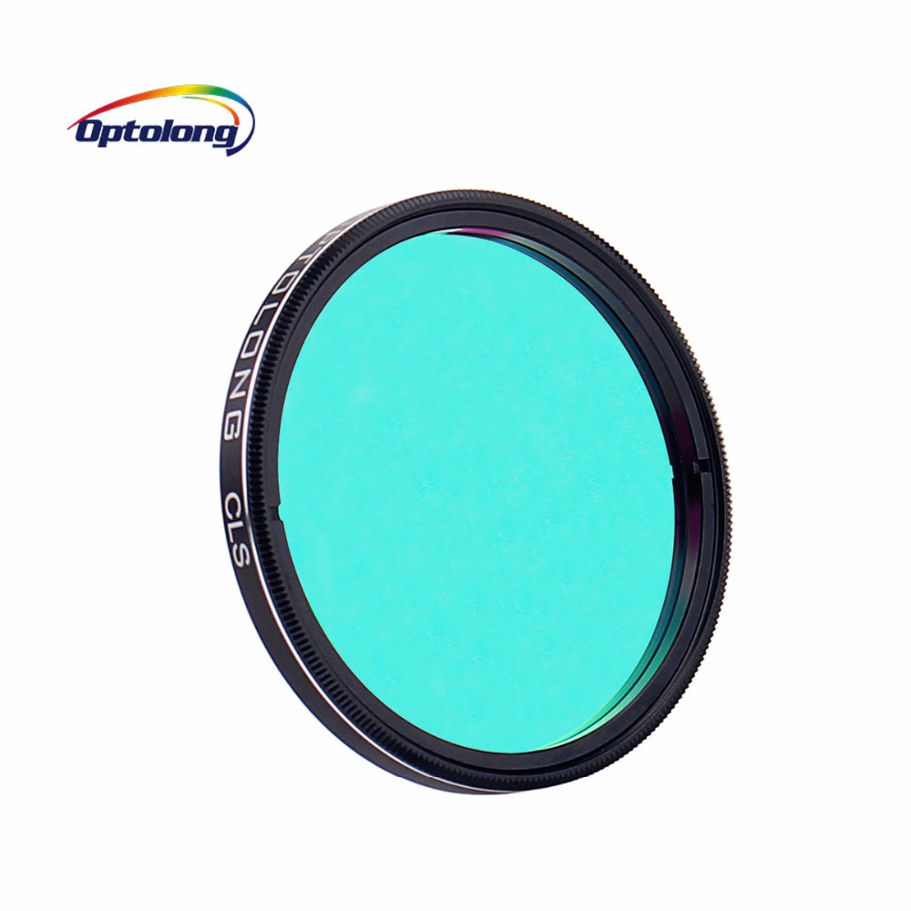 OPTOLONG 2 CLS Filter City Light Suppression Broadband Filter Photography for Astronomy Telescope Monocular M0009 optolong yulong 2 inch 1 25 inch built in l pro almost no color filter light filter deep space photography filter