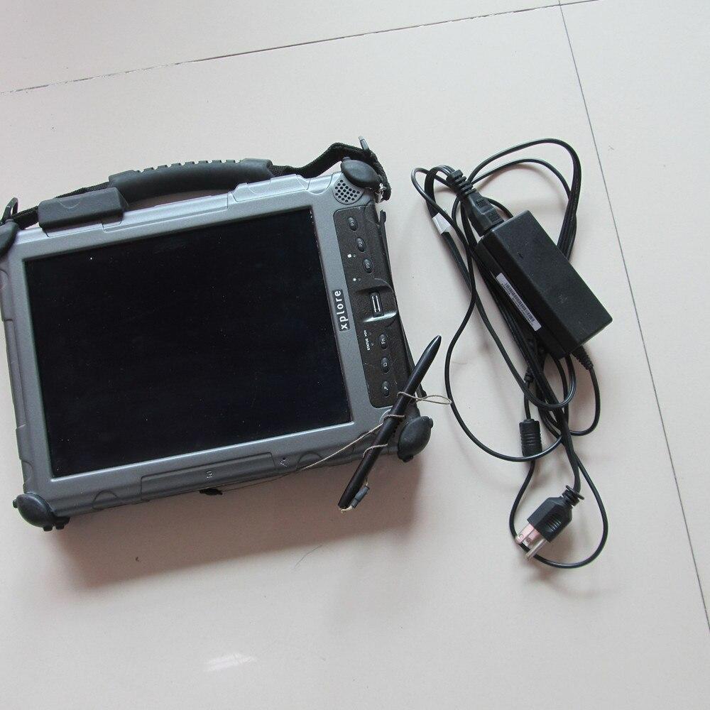 2018 Nouvelle Auto De Diagnostic Ordinateur Xplore ix104 C5 tablet (4g, i7) 240 gb MINI SSD peut travailler avec MB Étoiles C4 et pour BMW ICOM A2 B C