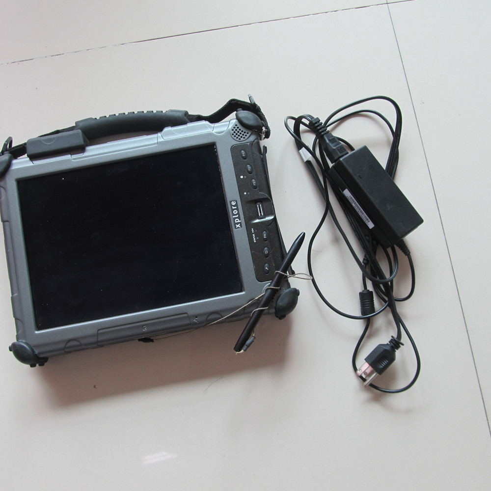 2018 di trasporto del Nuovo Auto Del Computer Diagnostico Xplore ix104 C5 tablet (4g, i7) 240 gb MINI SSD può funzionare con MB Star C4 e per BMW ICOM A2 B C