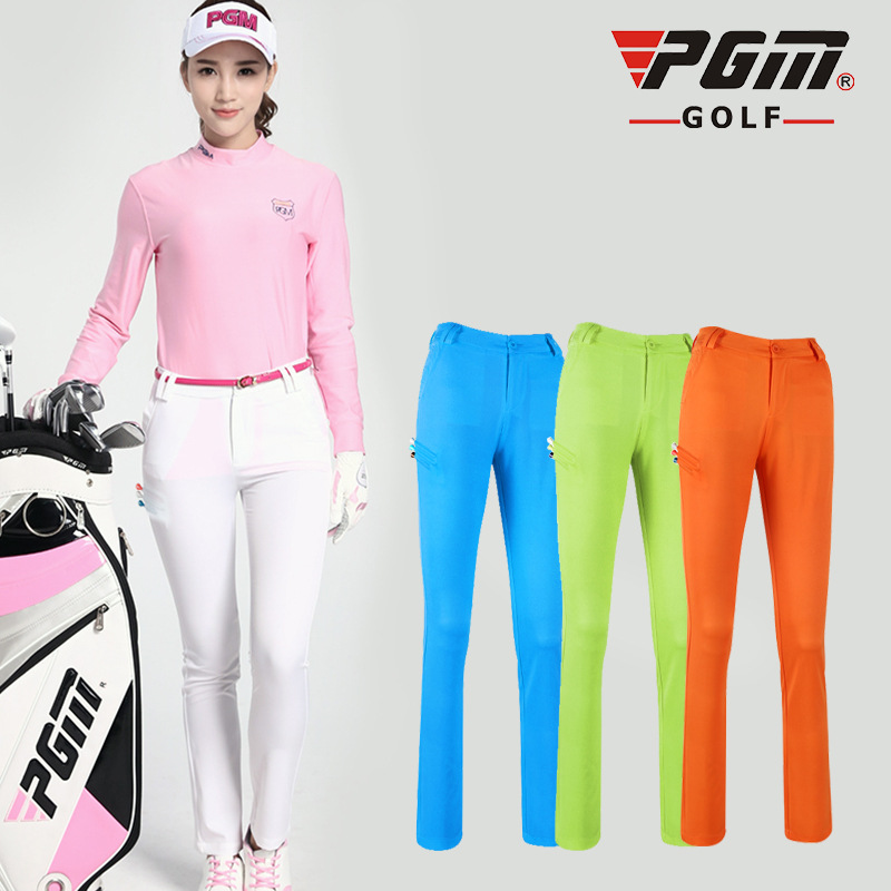 New Lady Clothes Golf Tennis Slim Thin Pant Women Lace Trousers High Elastic Outdoor Sportwear Long Pant Breathable Slim Dry Fit цена