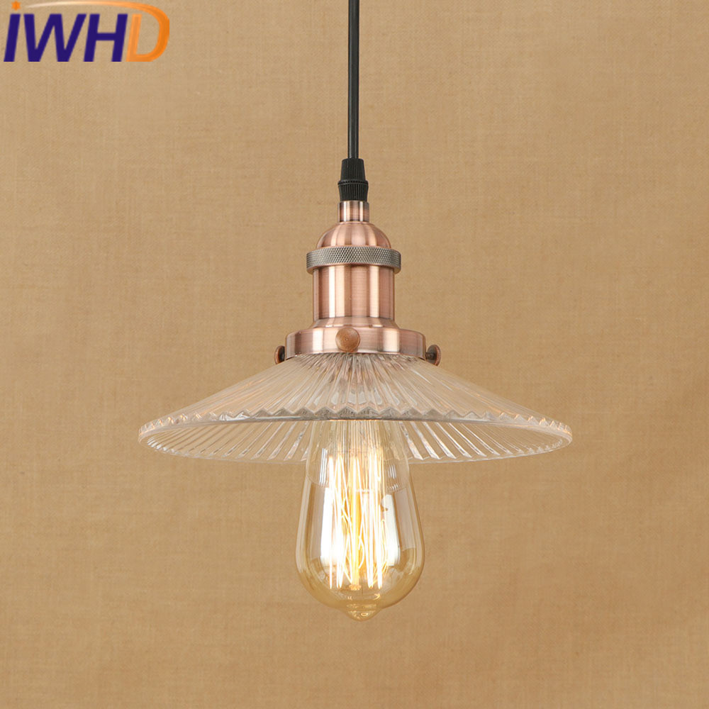 IWHD Vintage Pendant Lights Style Loft Industrial Hanging Lamp Bar Bedroom Kitchen Light Fixtures e27 220V For Decor Lamparas iwhd vintage hanging lamp led style loft vintage industrial lighting pendant lights creative kitchen retro light fixtures