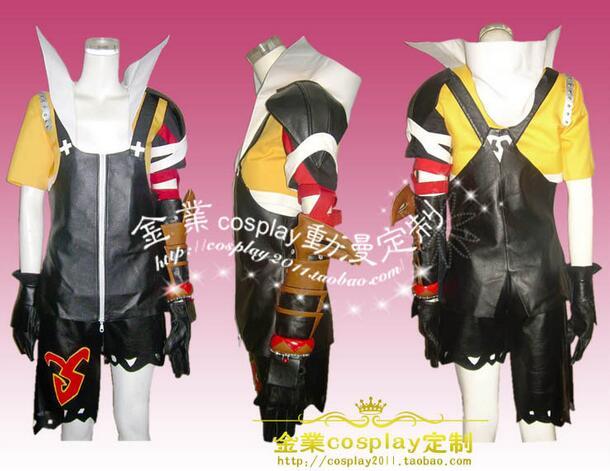 2016 final fantasy 10 Tidus cosplay costume custom any size