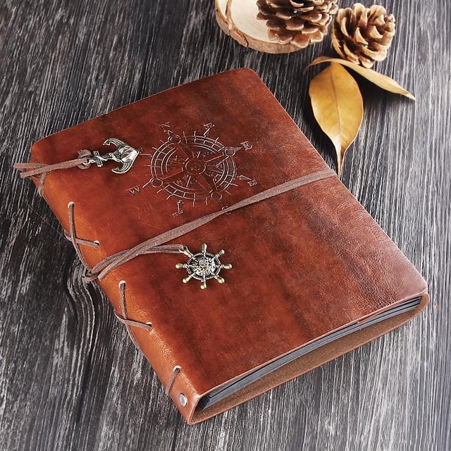 Leather Photo Album Retro Wedding Guest Book Diy Vintage Scrapbook
