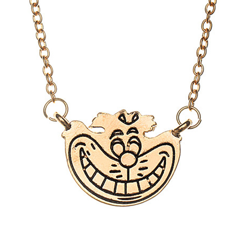 Movie Happy Doraemon Pendant Necklace Jewelry Good Luck Pendant Necklaces Accessories Gift For Women Men