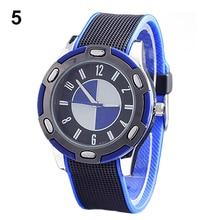 New! Sizzling Gross sales Informal Luxurious Rubber Males Girls Fashionable Wrist Quartz Watch Good Sports activities Wristwatch Extra Colours New Design 5DE1 6YM7