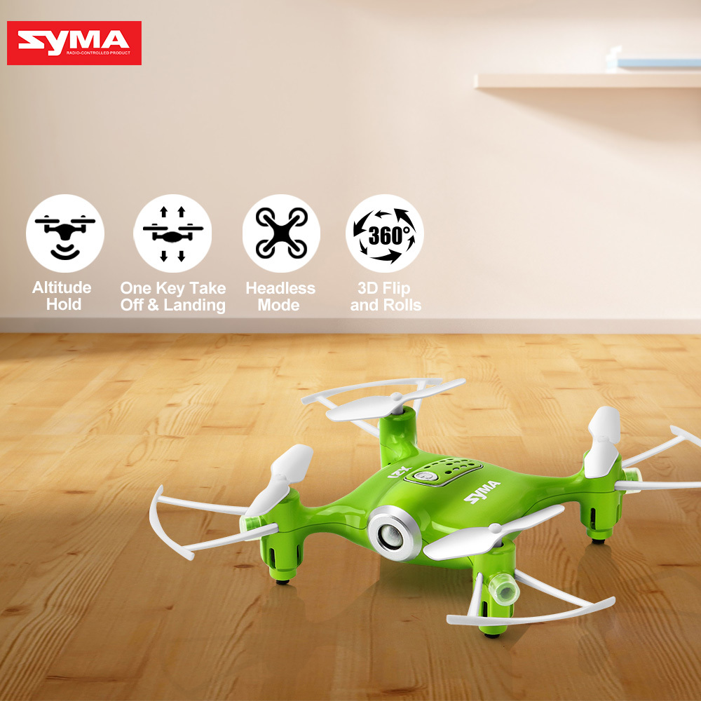 2017 Syma X21 Drone Newest RC Dron Quadcopter 2.4G 4CH Helicopter with Headless Mode Hover Fixed High without camera Christmas